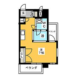 SK BUILDING6[10階]の間取り