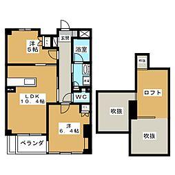 仮称)ソフト99コーポレーション名古屋支店円上町プロジェクト[7階]の間取り