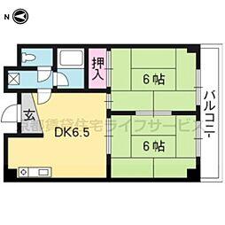 HOUSE S&Y[203号室]の間取り