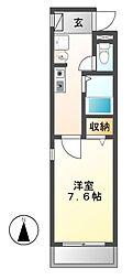シャノワール[1階]の間取り