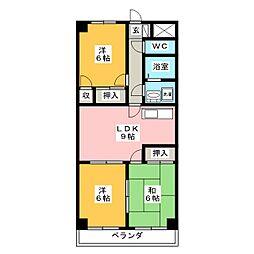 ダイアローグ3[2階]の間取り