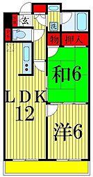 フルネスサヤマ[2階]の間取り