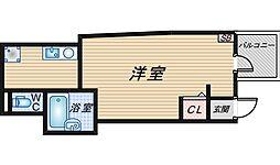 レジア豊中本町[201号室]の間取り