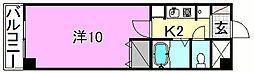 ベルメゾン福音寺[112 号室号室]の間取り