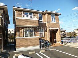 東京都立川市砂川町6丁目の賃貸アパートの外観