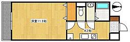 モンレーヴ葵東II[F-7号室号室]の間取り
