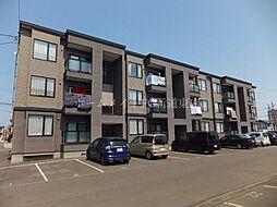 北海道札幌市東区北四十二条東12丁目の賃貸アパートの外観