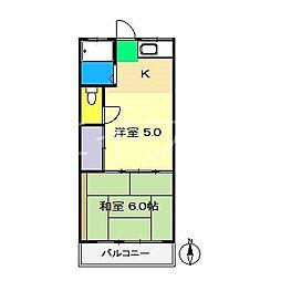 グリーン・N[2階]の間取り