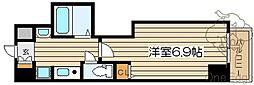 プロシード大阪梅田ポーション[4階]の間取り