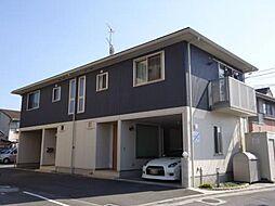 広島県福山市多治米町2丁目の賃貸アパートの外観