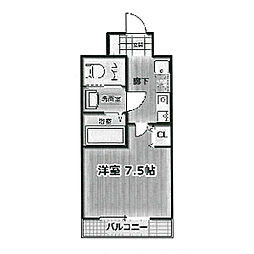 ミア・カーサあわざ[2階]の間取り