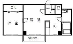 北海道旭川市永山三条1丁目の賃貸マンションの間取り