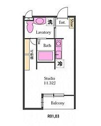 新築Padyei〜パディーII〜[1階]の間取り