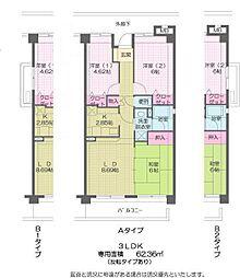 フラット渋谷第一マンション[303号室]の間取り