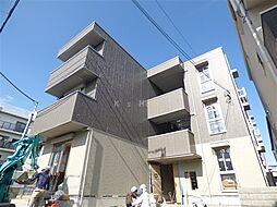 兵庫県神戸市中央区旗塚通2丁目の賃貸アパートの外観