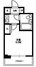 エスリード北大阪[3階]の間取り