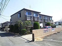東京都調布市下石原2丁目の賃貸アパートの外観
