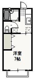 プリエール新屋敷[1階]の間取り
