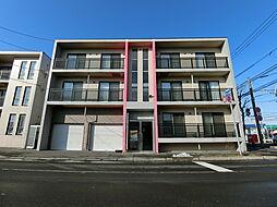 北海道札幌市白石区本通20丁目の賃貸マンションの外観