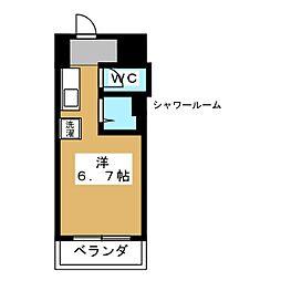 サイト烏丸三条町[4階]の間取り