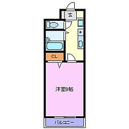 ジュネスメゾンイノウエ[1階]の間取り