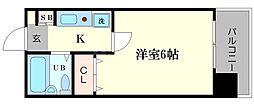 セレッソコート大阪城前[9階]の間取り