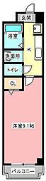 TKマンション中央I[2階]の間取り