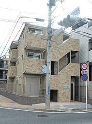 神奈川県川崎市多摩区宿河原1丁目の賃貸アパートの外観