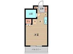 美山コーポ向ヶ丘[1階]の間取り
