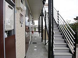 兵庫県神戸市北区南五葉4丁目の賃貸アパートの外観