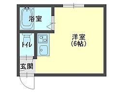 ヴィラナリー紅屋[2階]の間取り