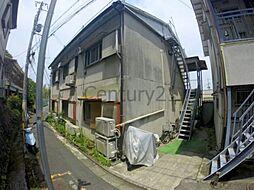 兵庫県川西市久代2丁目の賃貸アパートの外観