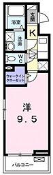 ecLore II[1階]の間取り