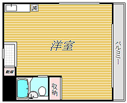 マンションNOBU[3階]の間取り