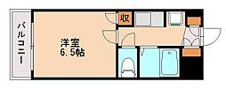 ソシアル六本松[5階]の間取り