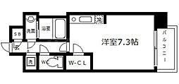 BPRレジデンス本町東[13階]の間取り