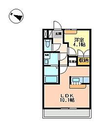 ボーヤハイム[1階]の間取り