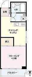 小野木ビル[3階]の間取り