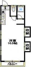 緑町グランドマンション[102号室号室]の間取り