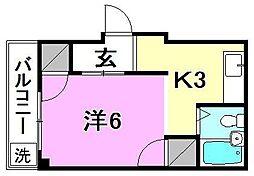 パールハイツ(土居田)[305 号室号室]の間取り