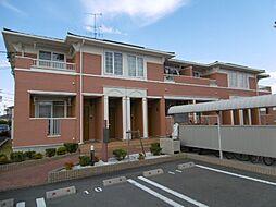 静岡県磐田市上大之郷の賃貸アパートの外観