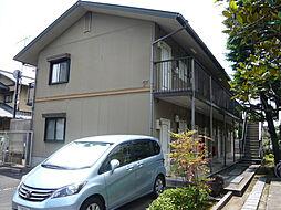 京都府京都市北区小松原北町の賃貸アパートの外観
