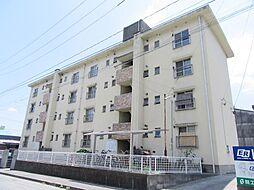 福岡県北九州市戸畑区牧山新町の賃貸マンションの外観