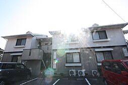 香川県高松市鬼無町是竹の賃貸アパートの外観
