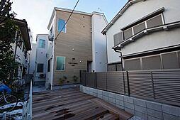 東京都大田区大森中2丁目の賃貸アパートの外観