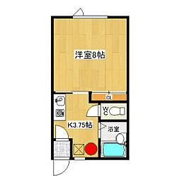みきハウス[2階]の間取り