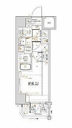 横浜市営地下鉄ブルーライン 阪東橋駅 徒歩3分の賃貸マンション 1階1Kの間取り