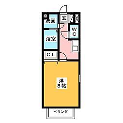 シェソワPart.2[2階]の間取り
