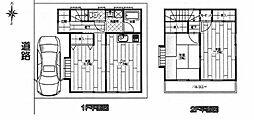 [一戸建] 東京都足立区江北2丁目 の賃貸【/】の間取り