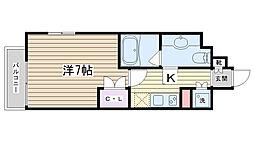 セジョリ田端[704号室]の間取り